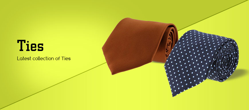 Buy Designer Men Ties Online