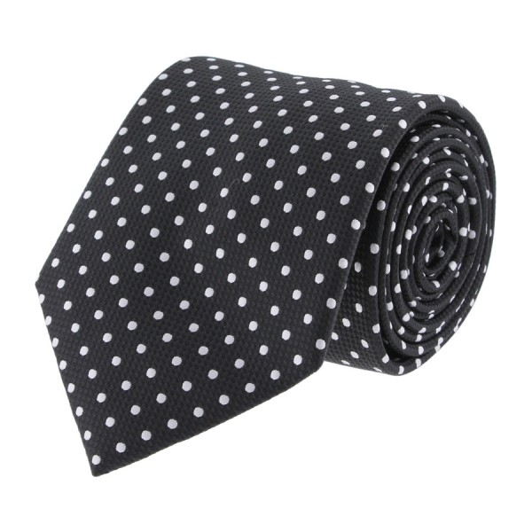 Catania Black - White Polka Dots