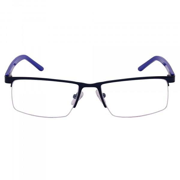 Maesta Blue & Black Rectangle Frame(MF5121-C5)