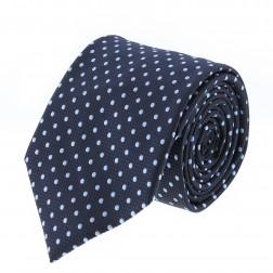 Catania Black - Blue Polka Dots