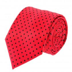 Catania Red - Black Polka Dots