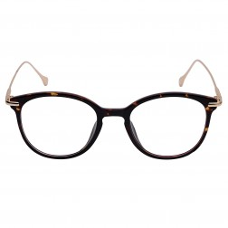 Maesta Demi Brown & Gold Round Frame (MF-7020-C7)